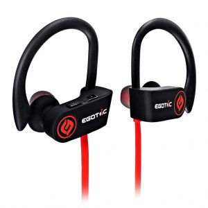 Egotic Fusion Bleutooth Wireless Earphones with Mic and Free Carry Case