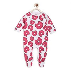 Berrytree Organic Cotton Baby Rompers : Donuts