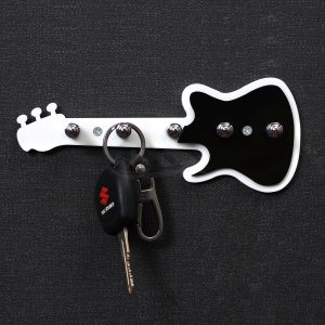 ACRYLIC GUITAR KEY HOLDERS DECORATIVE HANGING STAND