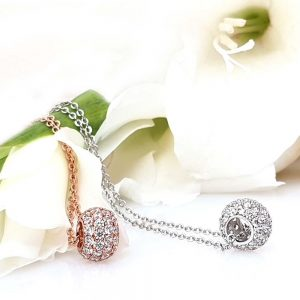 Dazzling Pendant with Chain