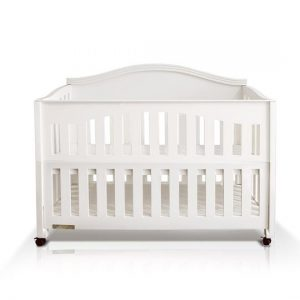 The Baby Station Wooden Cot Nightingale