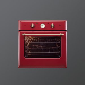 CLOV 6 RD | with True Convection | Red Retro Finish