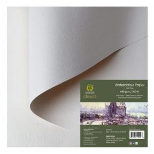 Classic Cut Sheets- 22x30 Inches Off White 300/450/640 GSM