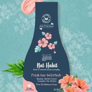Five Oil Hibiscus NutriMask for Hairfall Control