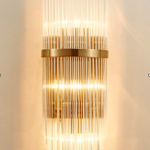Glass Arches Wall Light
