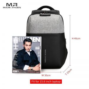Anti-Theft USB Charging 15.6 Inch Technology Backpack - MR6768