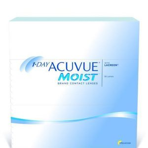 1 Day Acuvue Moist by Johnson & Johnson Daily Disposable Contact Lens- 90 lens pack
